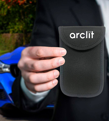 Review of Arclit ZEM Car Key Signal Blocker Case
