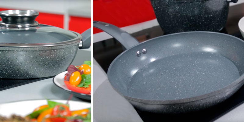 Review of Tower Cerastone 28 cm Forged Aluminium Frying Pan