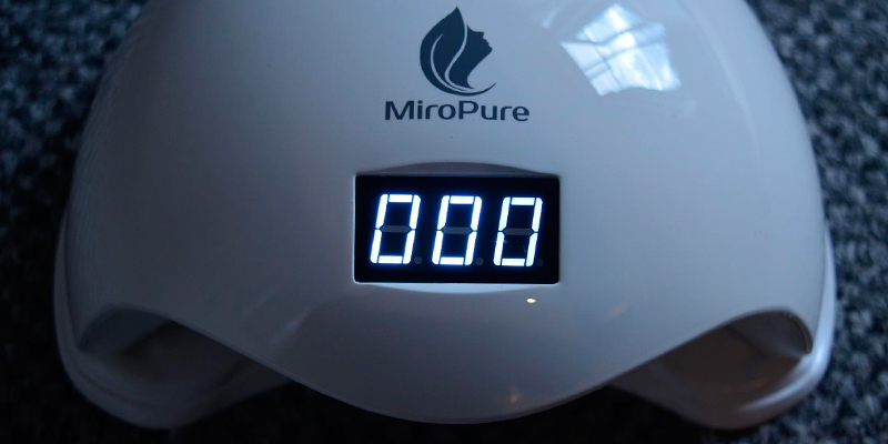 Review of MiroPure Auto-Sensing by Infrared Induction UV LED Nail Dryer