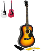 Martin Smith W-100-SB-PK Acoustic Guitar Package