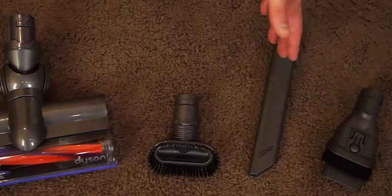 Dyson V6 Cordless Vacuum Cleaner in the use