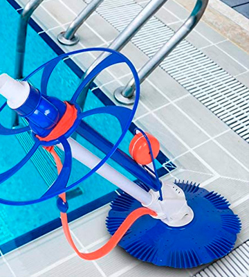 Review of KOWE Swimming Pool Vacuum Cleaner Automatic Cleaner Vacuum Sweeper