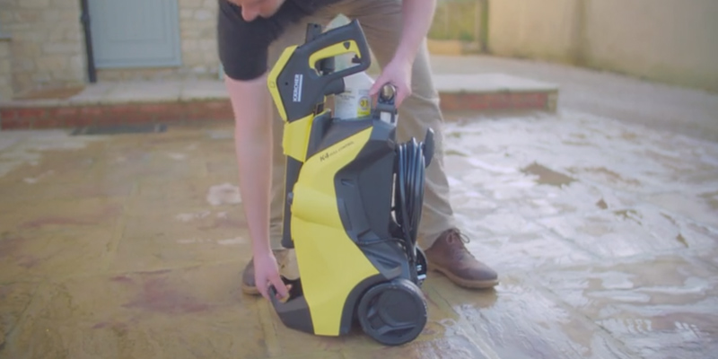 Karcher K4 Full Control Pressure Washer in the use