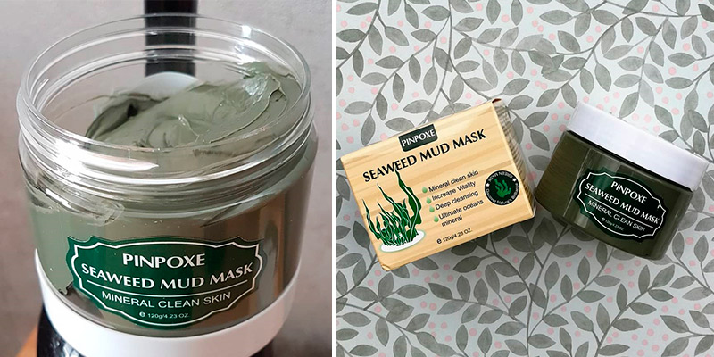 Review of PINPOXE Seaweed for Acne Mud Mask