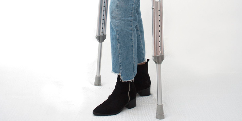 Review of Ability Superstore Adult Underarm Aluminium Crutches