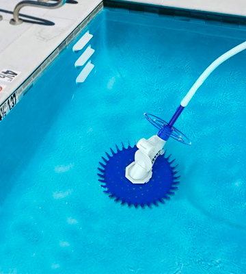 Review of PAXCESS Pool Cleaner Climb Wall Pool Sweeper