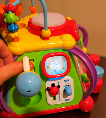 Review of EastSun HL-802 Early Education Baby Multifunction Box with Music/Light/Games