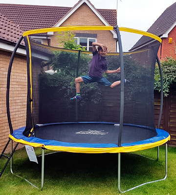 Review of Zero Gravity Kids Ultima 4 High Spec Trampoline (ZG06U4) with Safety Enclosure Netting and Ladder