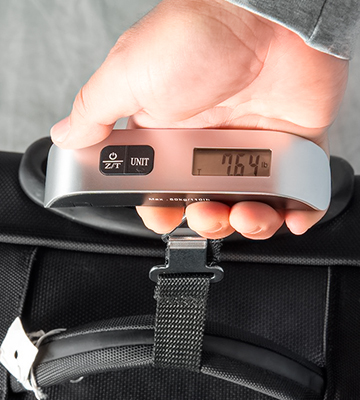 Review of PJP Electronics ABC-12347 50kg Digital Luggage Scales with Strap
