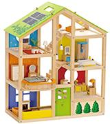 Hape HAP-E3401 All Season Doll's House