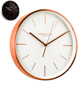 London Clock Artemis Wall Clock Copper