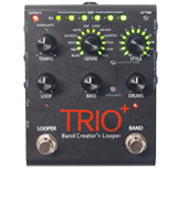 DigiTech TRIO Plus Guitar Pedal with Looper