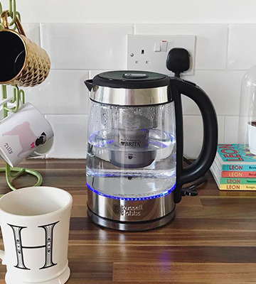 Review of Russell Hobbs 20760-10 BRITA Purity Glass Kettle