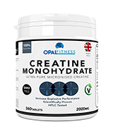 Opal Fitness Micronised Creatine Monohydrate Tablets