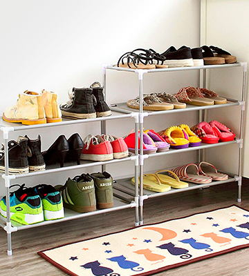 Review of AcornFort S-115 Adjustable Shoe Rack