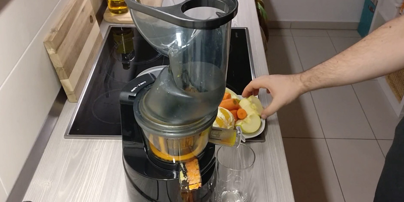 "Review of Aicok Masticating Slow Juicer 3"" Big Mouth Whole"