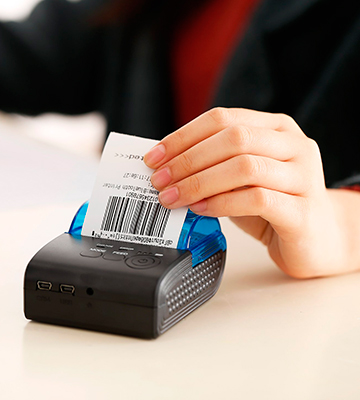 Review of LESHP Thermal Bluetooth Receipt Printer 58mm, Portable