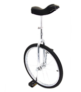 Indy Trainer UNI-004 Kids' Unicycle Chrome Plated 24