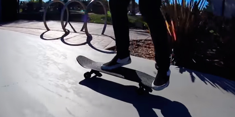 Penny 22 inch Classics Skateboard in the use