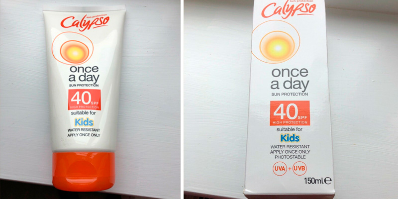Review of Calypso Once a Day Sun Protection Lotion