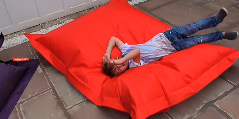 Review of Puregadgets XXXL Bean Bag Extra Large Cushion Sofa, Red