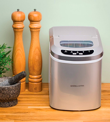 Review of Andrew James Compact Counter Top Ice Maker Machine