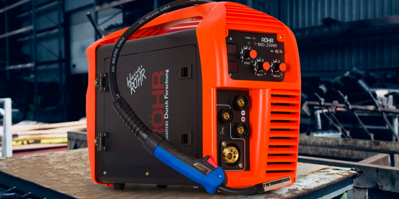 Review of Röhr MIG-250MI MIG/ARC Welder Inverter Gas/Gasless MMA 3-in-1