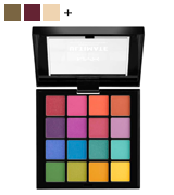 NYX Professional Makeup Ultimate, Pressed Pigments Eye Shadow Palette