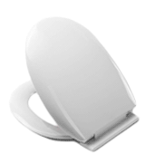 Croydex WL400022H Anti-Bacterial Toilet Seat with Soft Close Hinges