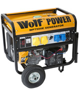 Wolf WP7500E 7000 Watt Electric Start Portable Generator
