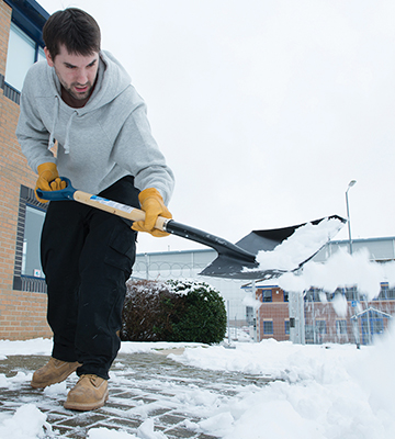 Review of Silverline GT30-2 Snow Shovel with PD Handle