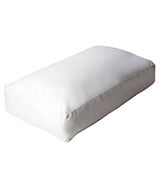 Dunlopillo 101069 Serenity Deluxe Full Latex Slim Pillow, White