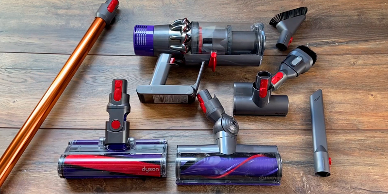 Dyson Cyclone V10 Absolute Vacuum Cleaner in the use