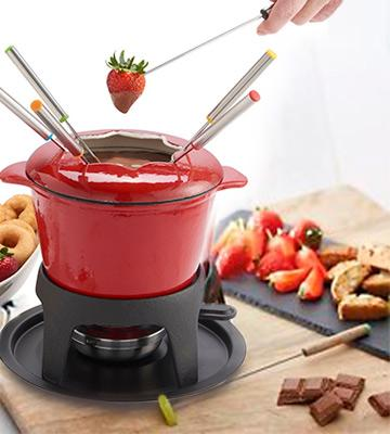 Review of KitchenCraft Cast Iron Fondue Set