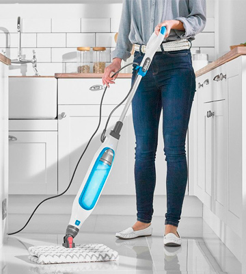 Review of Shark S6001UK Klik n' Flip Corded Steam Pocket Mop