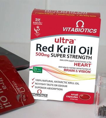 Review of Ultra 500mg Red Krill Oil Capsules