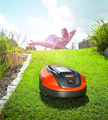Review of Flymo 9676450-03 Robotic Lawnmower