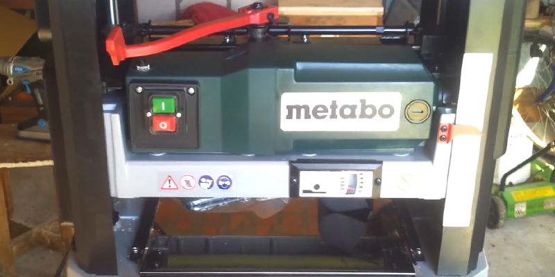 Review of Metabo MPTDH330 Thicknesser Planer