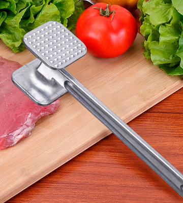 Review of KitchenCraft KCMEAT Meat Tenderiser Mallet