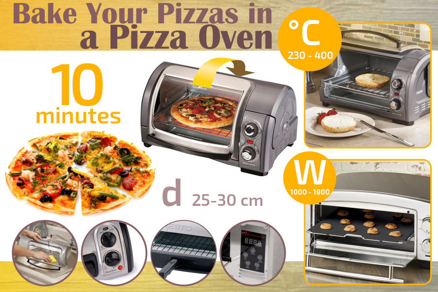Comparison of Pizza Ovens