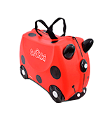 Trunki Harley the Ladybug / Ladybird Ride-on Suitcase