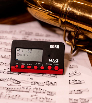 Review of Korg MA2-BKRD Digital Metronome