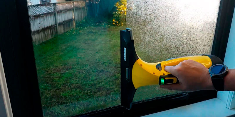 Review of Kärcher WV5 Premium Window cleaner for Windows