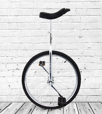 Review of Indy Trainer UNI-004 Kids' Unicycle Chrome Plated 24