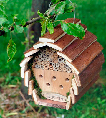 Review of Kingfisher HOTEL2 Wooden Bee Hotel