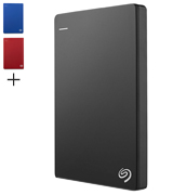 Seagate Backup Plus Slim Portable 2 TB External Hard Drive