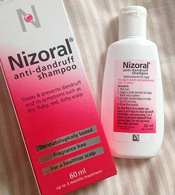 Review of Nizoral Anti Dandruff Perfect for Dry Flaky and Itchy Scalp