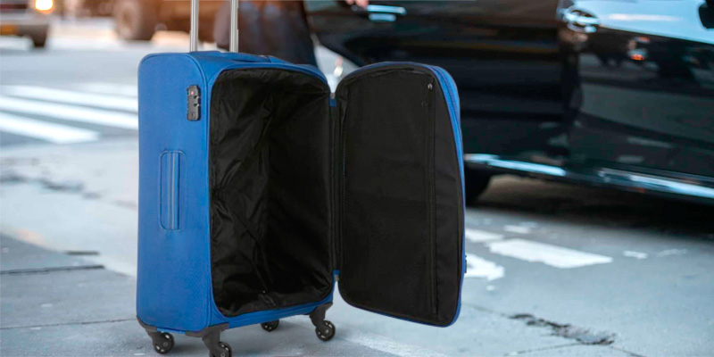Review of Antler Suitcase Marcus Siro Suitcase Soft Shell