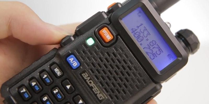 BaoFeng UV-5R Two Way Radio in the use