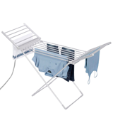 AMOS Electric Heated Clothes Laundry Drying Horse Rack